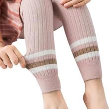 Новые осенние штаны для новорожденных девочек, хлопковые леггинсы с эластичной резинкой на талии, штаны в стиле пэчворк для малышей