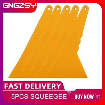 spiral crocister 8 x 1 5 in vinyl sheath with a brush and a handle vinyl cleaning device vinyl braided helix vinyl braided helix 5pcs Triangle Scraper Yellow Plastic 24*12cm with Long Handle Vinyl Film Glue Removing Industry Floor Cleaning Squeegee 5A01