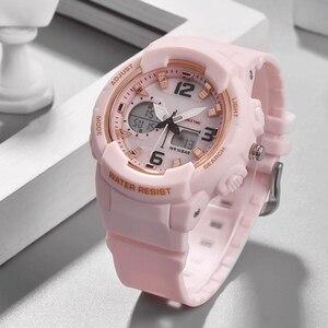 Image 2 - Shifenmei Digital Watch Women Sports Womens Watches Top Brand Ladies Bracelet Wristwatch Quartz Watch Female Relogio Feminino