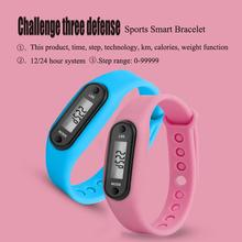 Sport Smart Wrist Watch Bracelet Display Fitness Gauge Step Tracker Digital LCD Pedometer Run Step Walking Calorie Counter цена в Москве и Питере