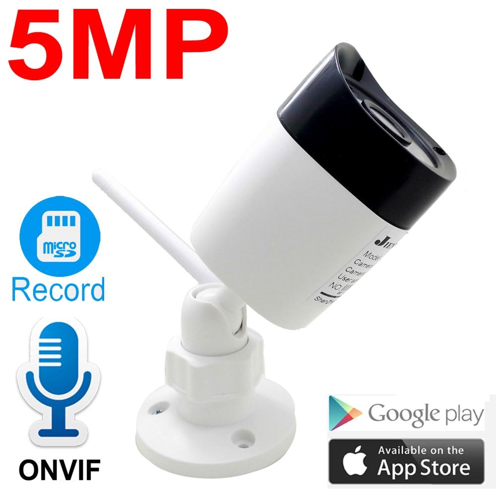 HD 5MP Wireless IP Camera 1080P Outdoor Waterproof Cam Audio Bullet Cctv Security Surveillance IPCam Onvif P2P WIfi Home Camera