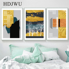 Simple Nordic Art Home Canvas Painting Wall Picture Abstract Printing Poster for Living Room  DJ417