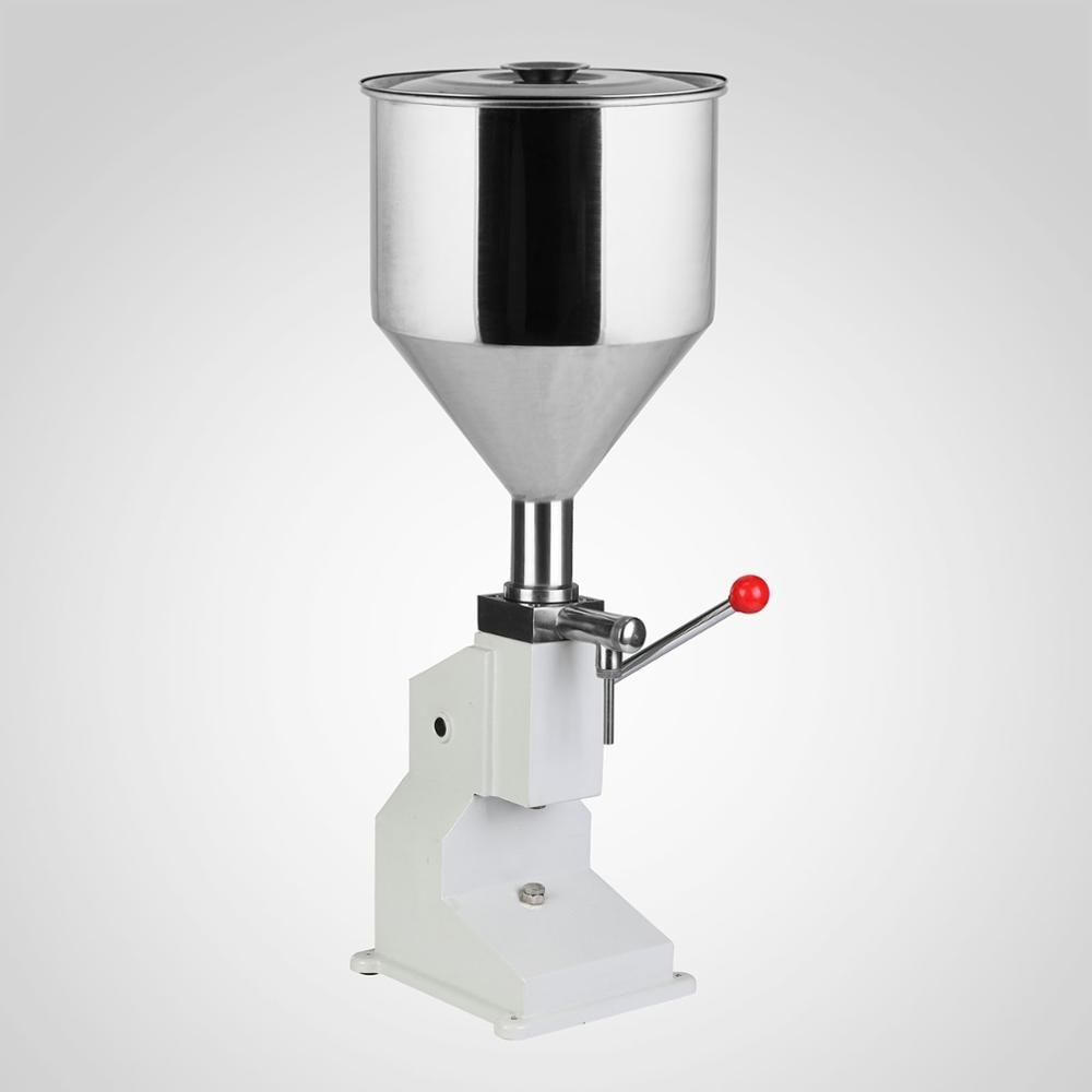 Digital Liquid Manual Filling Machine Filler 5-50ML Stainless Steel Water Wine Filling Machine
