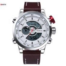 Dijital spor saatler erkekler yüksek kalite moda basit spor kol saatleri erkek askeri saatler çalar saat dijital saatler
