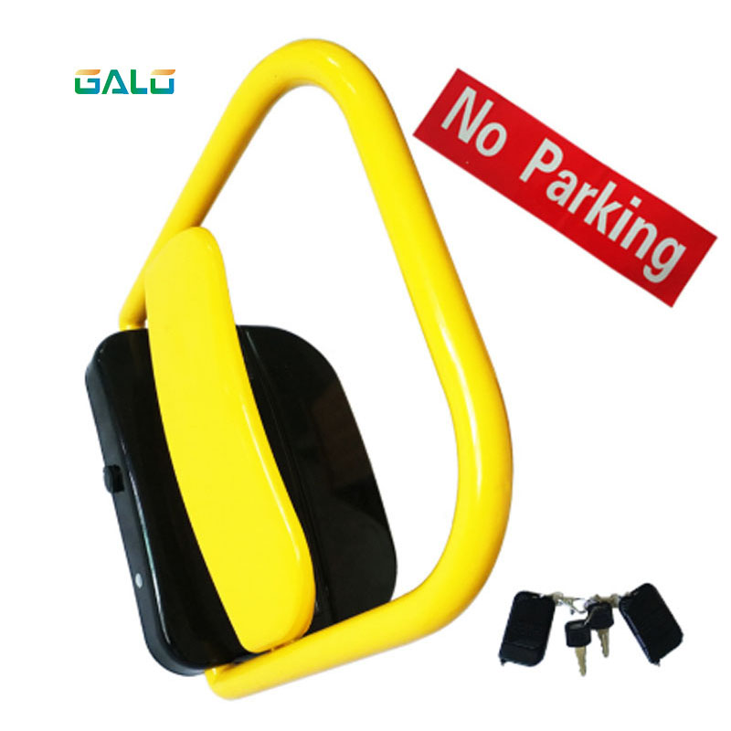 Automatic Solar Power Car Parking Locks solar power parking guard parking barriers