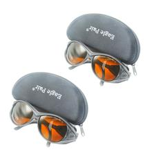 2pcs EP-1-2 EP-1A OD4+ 190-540&800-2000nm Laser Protective Goggles Safety Glasses CE