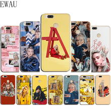 EWAU Billie Eilish Khalid Lovely Silicone Mattle phone case for Xiaomi 6 8 9 SE A1 A2 Lite Mix 2S Max 3 F1 A3 9T Pro CC9e цена