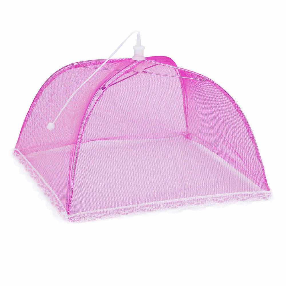 Kichen аксессуары большой поп-сетка защитная крышка для еды палатка купол сетчатый зонтик для пикника кухня аксессуары для кухни outils