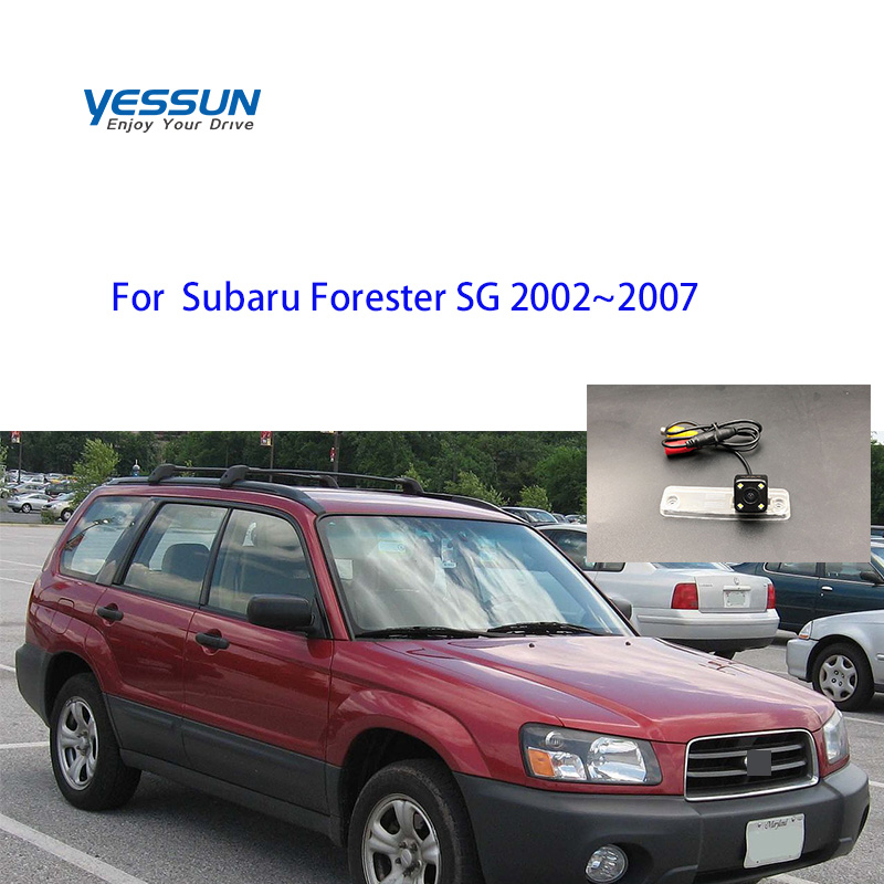 Yessun HD CCD Night Vision Car Rear View Reverse Backup Camera For Subaru Forester SG MK2  2002 2003 2004 2005 2006 2007