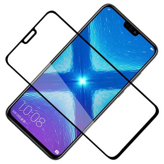 Cubierta completa 3D 9H templado para Huawei para Honor 8 8X 8A vidrio Lite para Protector de pantalla de vidrio