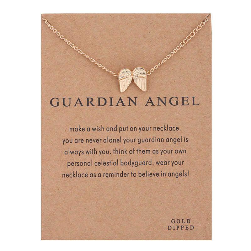 Collares con colgante de aleación y Hojas de Trébol de la suerte con forma de estrella de amor y sol elegantes, de nueva moda, accesorios de joyería para mujer