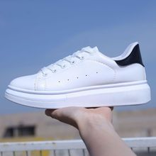 2019 Spring and Autumn New Designer Wedges White Shoes Female Platform Sneakers Women Tenis Feminino Casual Female Shoes Woman|Women's Flats|   - AliExpress