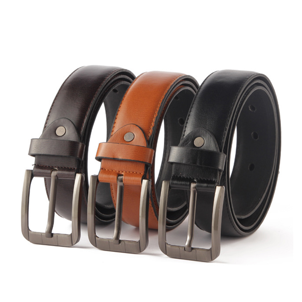 Casual Formal Mens Strap Belts Waistband Pin Buckle Belt Waistbelt PU Leather Waistband Waistbelt Fashion Accessory Gift