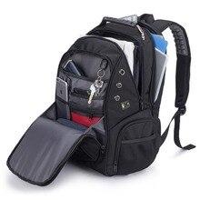 Large Capacity Backpack Men Multi Layer Pocket Backpack Business Bag Air Cushion Belt Laptop Back Pack Travel Bagpack Mochila
