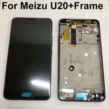 Orijinal yeni LCD ekran ekran + dokunmatik panel sayısallaştırıcı için çerçeve ile Meizu U20 Meizu U20 U680A U685C U685M U685Q + araçları
