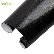 30cm*152cm Self Adhesive Crocodile Pattern Leather Vinyl Film Waterproof PVC Car Body DIY Wrapping Sticker Interior Decor Decal(China)