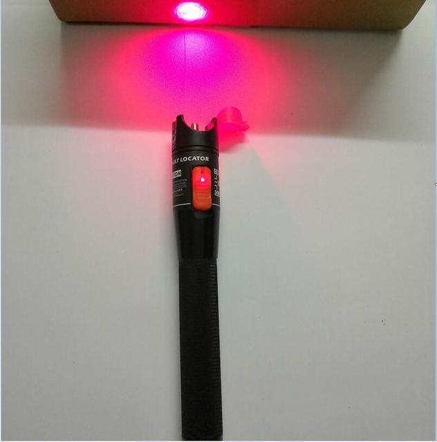 Darmowa wysyłka 30mW tester kabli światłowodowych VFL czerwone światło Pen lokalizator uszkodzeń wizualnych 20mw 10mw 1mw