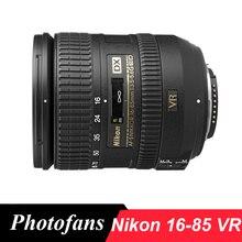 Nikon 16 85 AF S DX 16 85 มม.F/3.5 5.6G ED VR เลนส์สำหรับ Nikon D3200 3300 D3400 D3500 D5200 D5300 D5500 D5600 7200 D7500