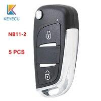 KEYECU 5 шт. KEYDIY универсальные KD пульты 2 кнопки nb-серии для KD900 KD900 + URG200 + KD-X2 NB11-2
