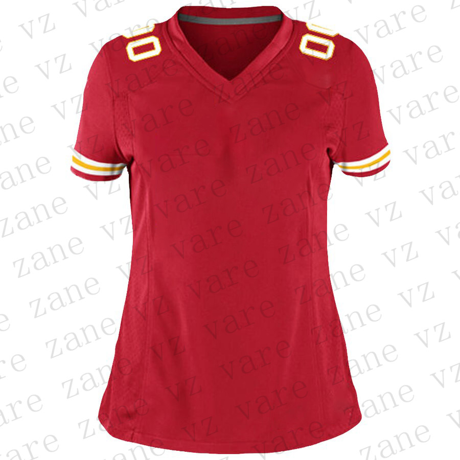 Customize Women American Football Jerseys Patrick Mahomes Travis Kelce Joe Montana Tyrek Hill Robinson Cheap Kansas City Jersey