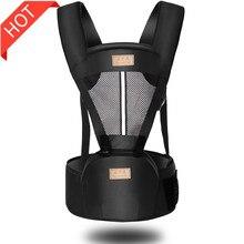 Ergonomik bebek taşıyıcı sırt çantası sling bebek ergonomik kalça şal taşıma çocuk bebek seyahat için 0 36 ay Dropshipping yapmak