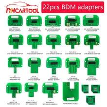 Strumenti diagnostici OBD2 22pcs adattatori BDM Set completo LED BDM Frame per FGTECH BDM100 adattatori per sonde LED ECU rampa Chip Tuning Tool