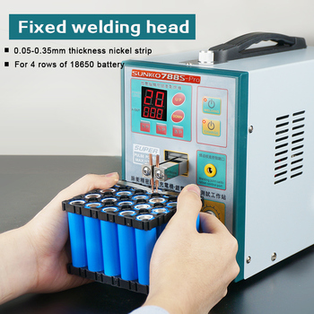 цена на 110V/220V SUNNKKO 788S PRO WITH 71A SPOT WELDING PEN SPOT WELDER MACHINE 3.2KW BATTERY WELDING MACHINE FREE SHIPPING