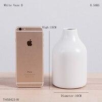White Vase B