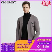COODRONY Brand Fashion Casual Knitwear Soft Warm Cardigan Men Clothing 2020 Autumn Winter New Arrivals Sweater Coat Pockets B11