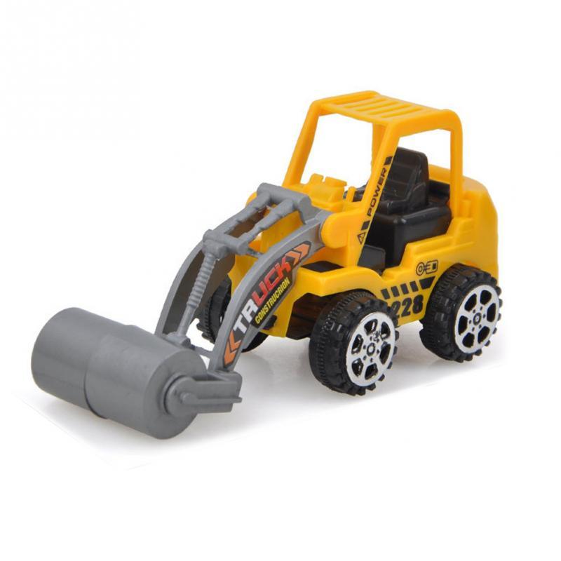 New 1Pcs Engineering Vehicle Kids  Car Toys Lot Vehicle Sets Educational Toys Plastic Engineering Vehicle Model Toys