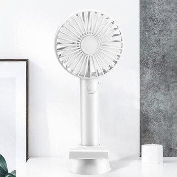Palmare Personale Mini Ventilatore Del Usb Del Ventilatore Del Dispositivo Di Raffreddamento Portatile Ricaricabile Con Cinghia Regolabile 3 Velocità Per Ufficio Corsa Esterna