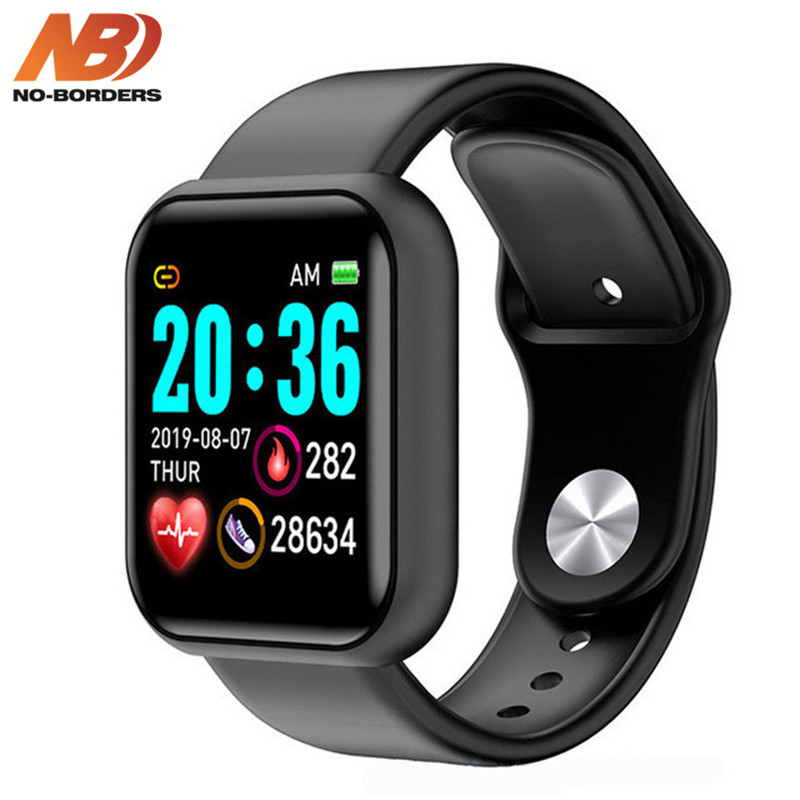 Y68 Smart Watch Fitness Bracelet Activity Tracker Heart Rate Monitor Blood Pressure Bluetooth Watch For Ios Android VS B57 B58