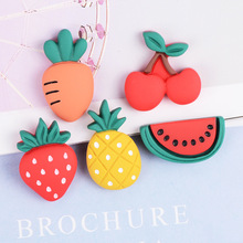 Fruits-Jewelry-Ornaments Craft-Supplies Hair-Accessories Phone-Shell-Decor DIY Resin