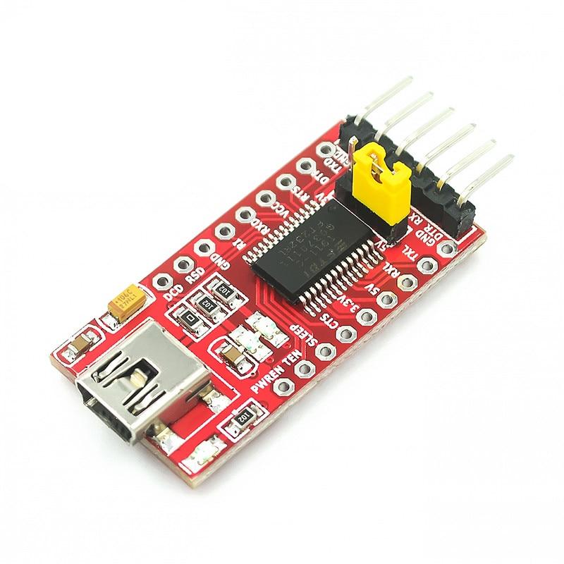 1 шт. FT232RL FT232 от USB к TTL 5 в 3,3 В, кабель для скачивания в модуль последовательного адаптера для USB к 232