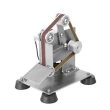 Multifunctional Professional Mini Portable Electric Belt Sander Grinder DIY Polishing Grinding Machine Cutter Edges Sharpener