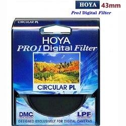 HOYA 43 мм PRO1 цифровой CPL Multicoat круговой поляризационный фильтр Pro 1 DMC CIR-PL Защитная линза для однообъективной зеркальной Камера