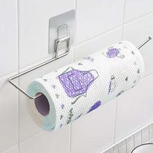 Кухонный держатель для бумаги вешалка рулон ткани вешалка для полотенец Ванная комната Туалет Раковина висячий Органайзер на дверь крюк для хранения, держатель m10