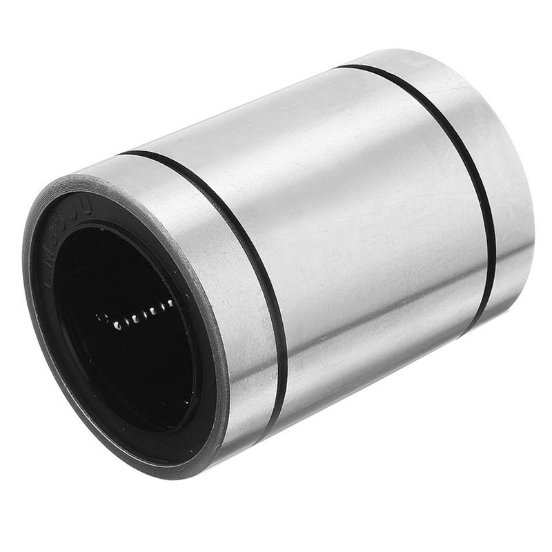 LM35UU 35mmx52mmx70mm Double Side Rubber Seal Linear Motion Ball Bearing Bushing