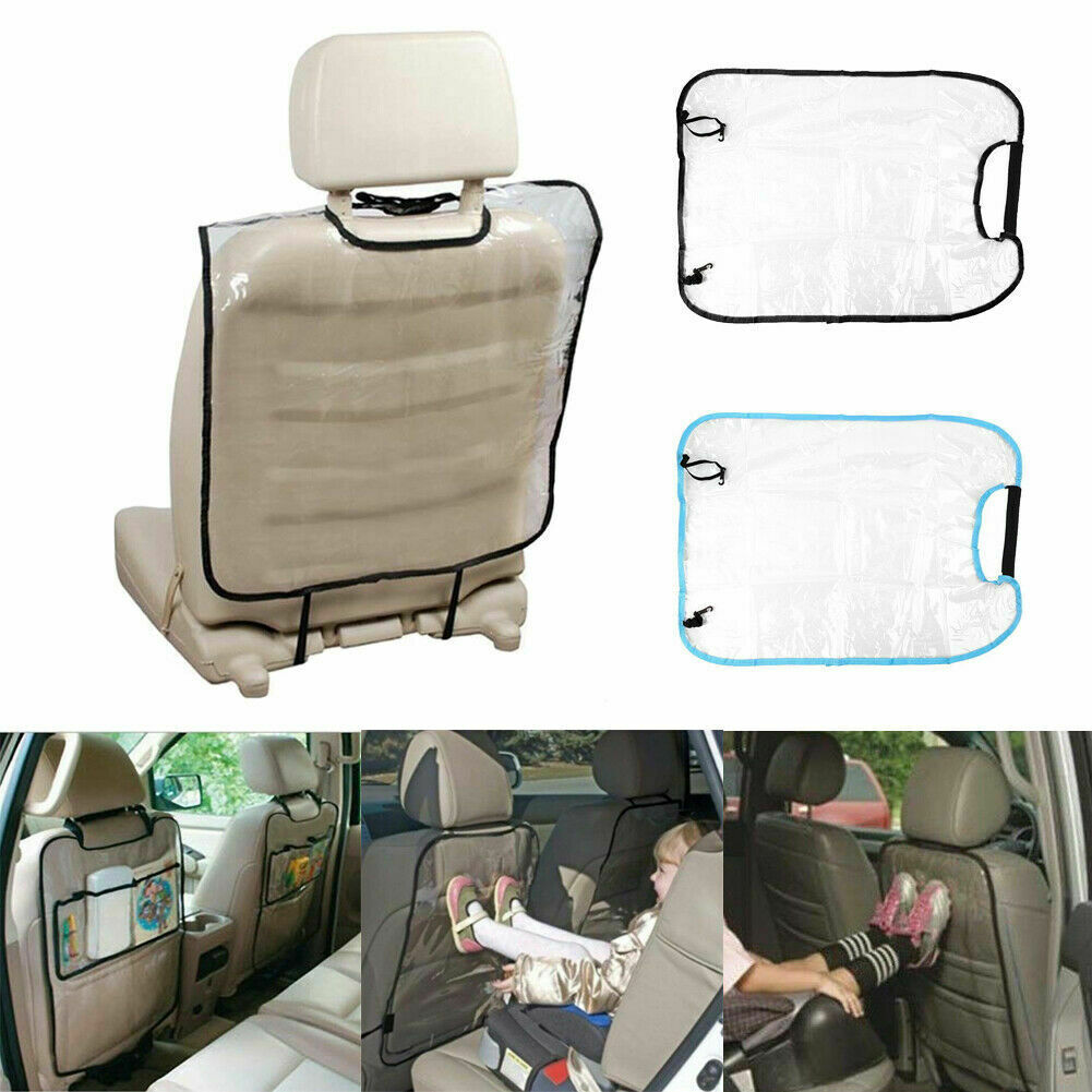 Car Seat Back Protector Cover For Children Babies Kick Mat Protects