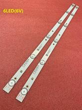 2 Pcs Led Backlight Strip Voor Polar 32LTV2002 JL.D32061330 081AS M FZD 03 E348124 MS L1343 L2202 L1074 V2 2 6 3030 300MA 36V