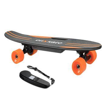 цена на EnSkate Woboard Lite   28inch  Remote Electric Skateboard Longboard Cruiser Electric Skateboard Maple Deck electric hoverboad