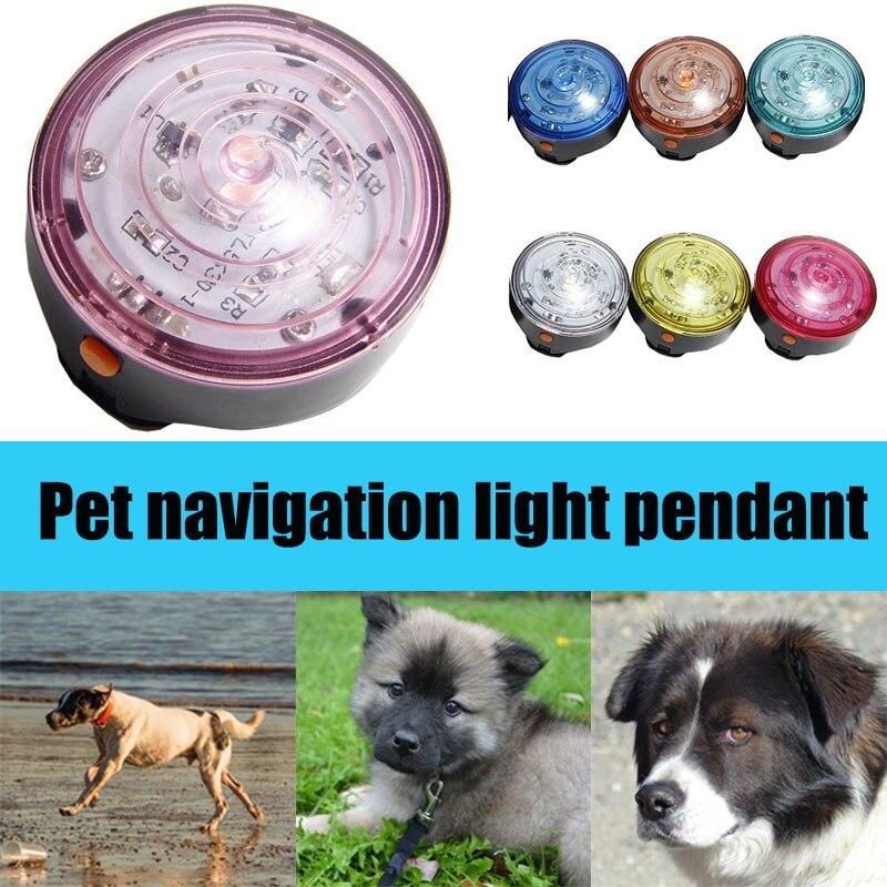 Dog Collar LED Lights Pendant Flashing Safety Lamp for Night Walking Cycling font b Pet b