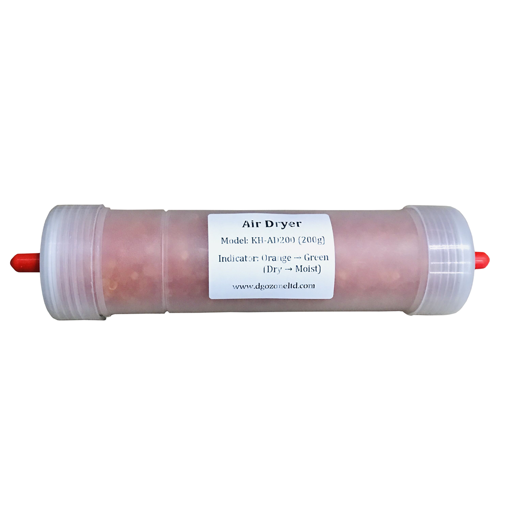 200ML Silica Air Dryer Silicone Filter Orange Bead KH-AD200 DGOzone