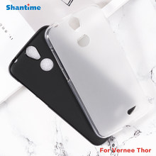 For Vernee Thor Gel Pudding Silicone Phone Protective Back Shell For Vernee Thor Soft TPU Case(China)