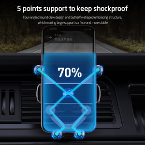 Image 3 - ESR Car Gravity Phone Holder Gravity Stand For iPhone XIAOMI Huawei Mobile Phone Holder Universal  in Car Air Vent Clip Mount
