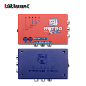 Image 4 - Bitfunx RetroScaler2x A/V כדי HDMI ממיר וקו מכפיל עבור רטרו משחק קונסולות PS2/N64/NES/SEGA Dreamcast/שבתאי/MD1/MD2
