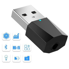 Receptor de Audio estéreo USB Bluetooth 2,0 para altavoz MP3 MP4 de 5V CC(China)