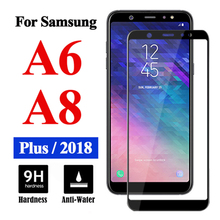 Защитное бронированное стекло на для Samsung Galaxy A8 Plus A6 протектор экрана A 6 8 закаленное стекло лист Cam Tremp 9h пленка