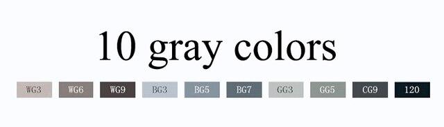 10 gray colors