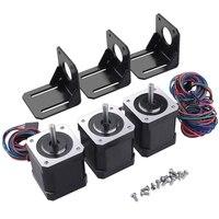 HOT-NEMA 17 Stepper Motor  17HD48002H-22B Stepper Motor for 3D Printer CNC with Stand